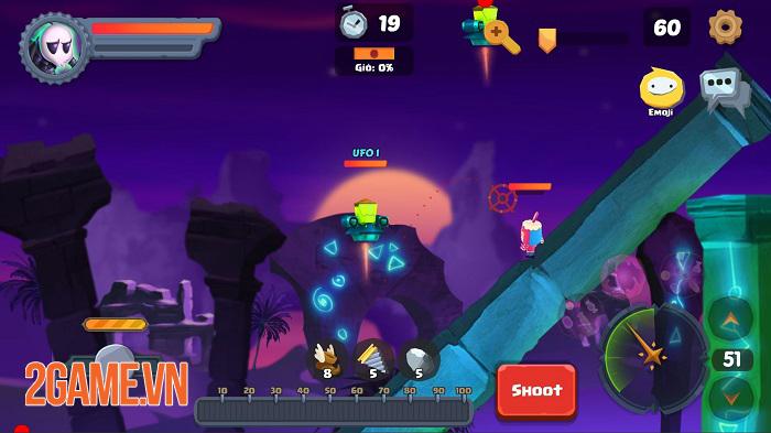 Game bắn súng canh tọa độ Gunzy có nhiều điểm rất riêng so với game cùng loại 3