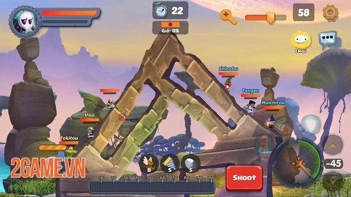 Game bắn súng canh tọa độ Gunzy có nhiều điểm rất riêng so với game cùng loại 1