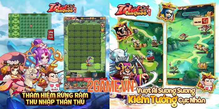 Idol Tam Quốc bất ngờ ra mắt bản H5 cực kỳ tiện lợi cho người chơi 1