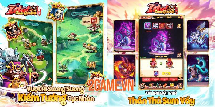 Idol Tam Quốc bất ngờ ra mắt bản H5 cực kỳ tiện lợi cho người chơi 0