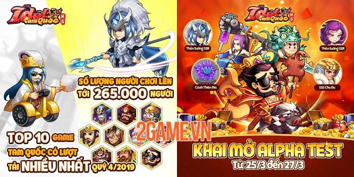 Idol Tam Quốc bất ngờ ra mắt bản H5 cực kỳ tiện lợi cho người chơi 2