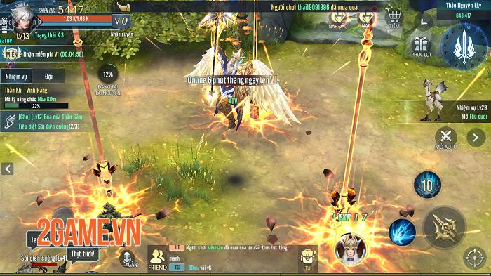 Vệ Thần Mobile tạo nét riêng cho dòng MMORPG 3D ở Việt Nam 1