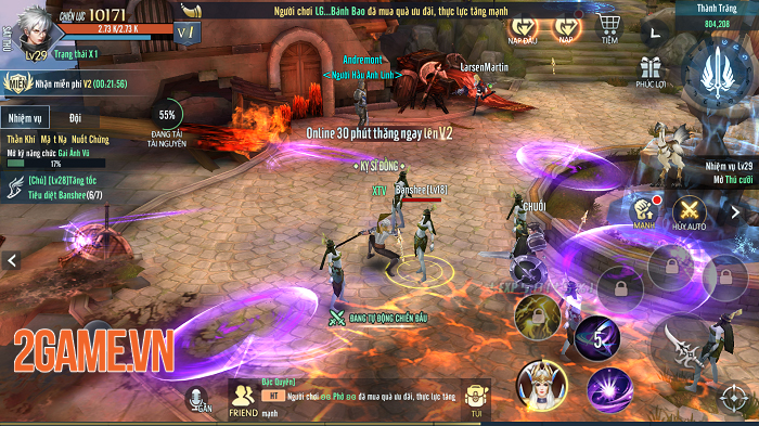 Vệ Thần Mobile tạo nét riêng cho dòng MMORPG 3D ở Việt Nam 2