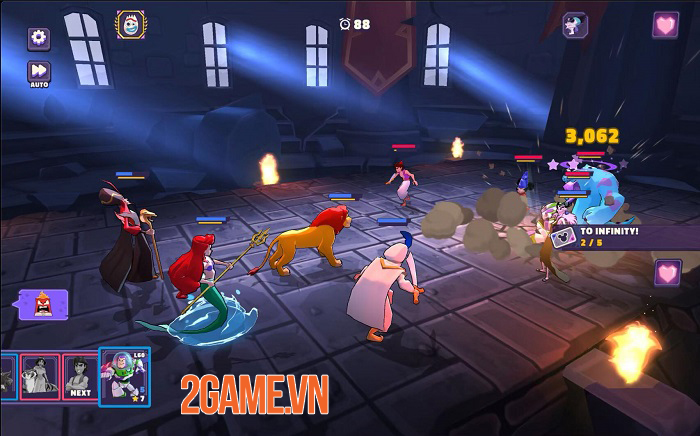 Disney Sorcerer's Arena - Game đánh theo lượt với những trận PVP thời gian thực tuyệt đỉnh 1