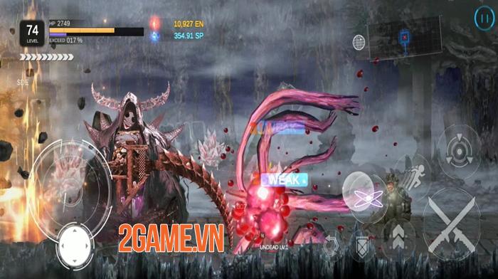 Earth WARS: Retake Earth - Game cuộn cảnh 2D có đồ họa hoạt hình lạ mắt 0