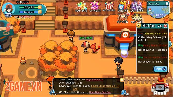 Game Pokemon phong cách pixel Liên Quân Bảo Bối sắp ra mắt ở Việt Nam 3
