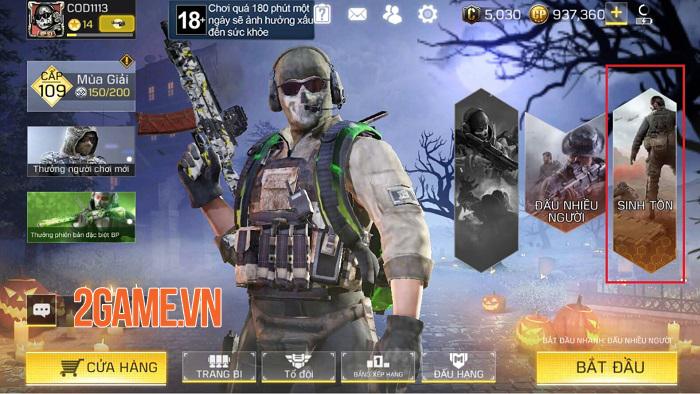 Call of Duty: Mobile VN có nhiều điểm độc đáo trong các chế độ chơi 0
