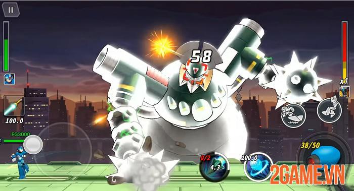 Cảm nhận MEGA MAN X Dive Mobile: Thừa hưởng tất cả từ series game huyền thoại Rockman 1