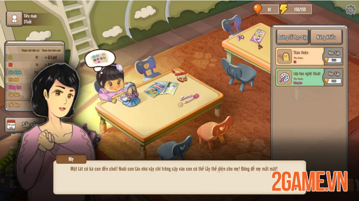 Game Chinese Parents mang đến cảm giác tự do như đi ra ngoài dù bạn vẫn ngồi trong phòng 3