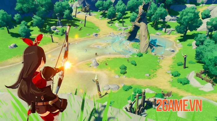 Mỗi vũ khí trong game Genshin Impact đều tạo ra phương thức chiến đấu khác biệt 4
