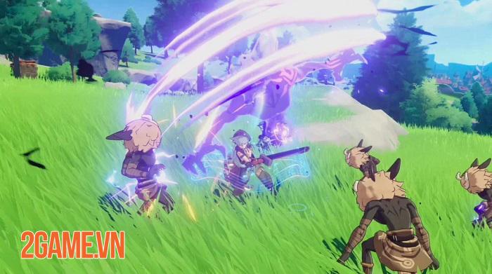 Mỗi vũ khí trong game Genshin Impact đều tạo ra phương thức chiến đấu khác biệt 1