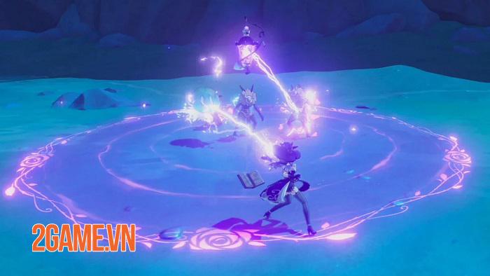 Mỗi vũ khí trong game Genshin Impact đều tạo ra phương thức chiến đấu khác biệt 3