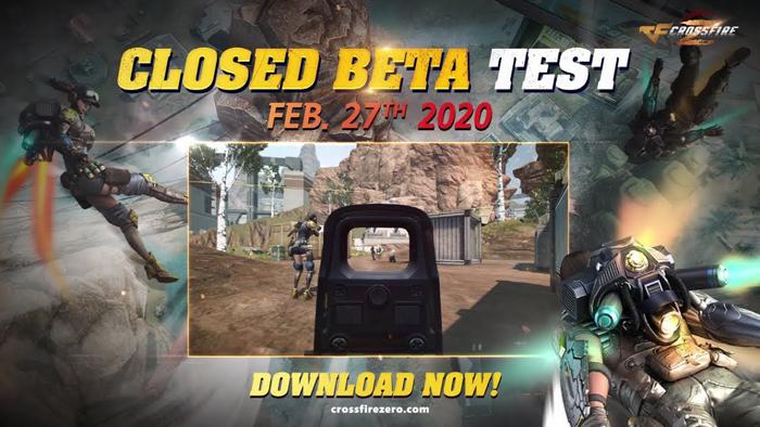 Game bắn súng Crossfire Zero âm thầm ra mắt bản thử nghiệm 0