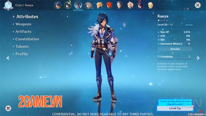 Genshin Impact Mobile xóa bỏ mọi hiểu lầm của game thủ sau đợt thử nghiệm nội bộ 3