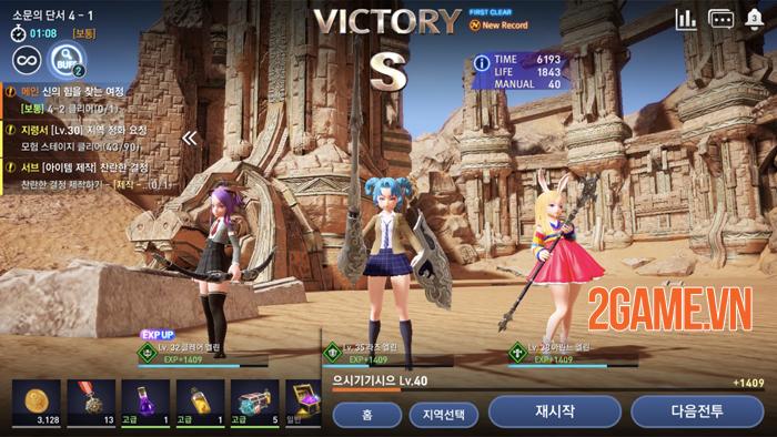 Trải nghiệm nhanh Tera Hero Mobile: Phê vì đồ họa, gameplay gây nhiều tranh cãi 0