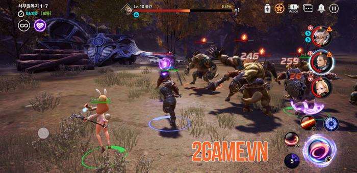 Trải nghiệm nhanh Tera Hero Mobile: Phê vì đồ họa, gameplay gây nhiều tranh cãi 5