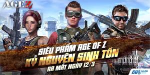 VTC Game phát hành Age Of Z – Kỷ Nguyên Sinh Tồn tại Việt Nam