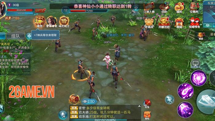 Game nhập vai Minh Triều Cẩm Y Vệ Mobile về Việt Nam 2