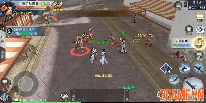 Nhất Mộng Giang Hồ Mobile - Game nhập vai đổi vũ khí là đổi skill về Việt Nam 4