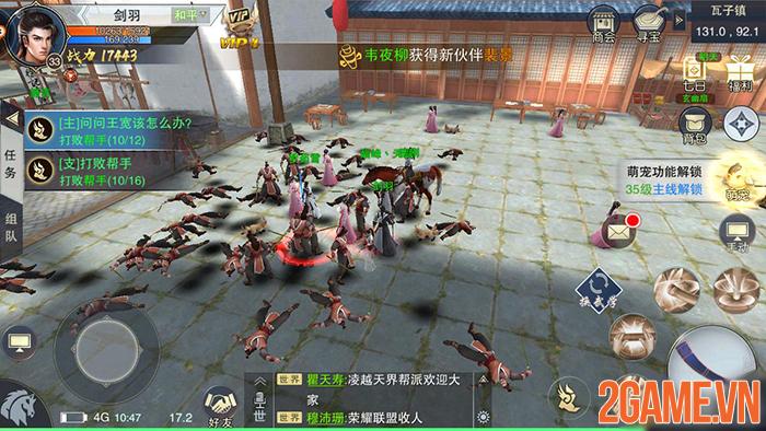 Nhất Mộng Giang Hồ Mobile - Game nhập vai đổi vũ khí là đổi skill về Việt Nam 5