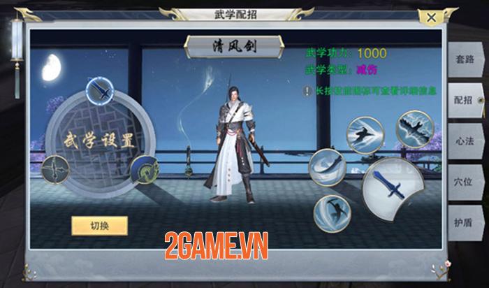 Nhất Mộng Giang Hồ Mobile - Game nhập vai đổi vũ khí là đổi skill về Việt Nam 3