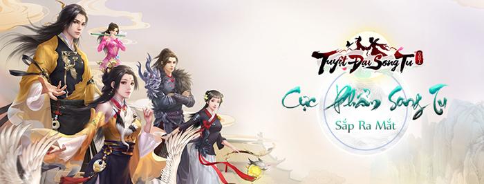 Gamota sắp ra mắt game mới Tuyệt Đại Song Tu Mobile 1