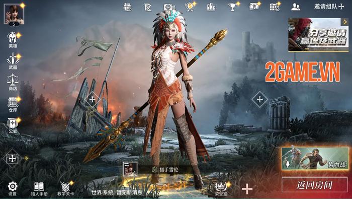 Khám phá game The King of Hunter: Game sinh tồn lấy bối cảnh Trung Cổ mới lạ 3