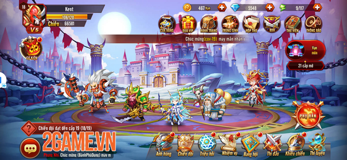 Nuôi tướng bằng skill - Thứ độc lạ chỉ có trong Siêu Thần Mobile 0