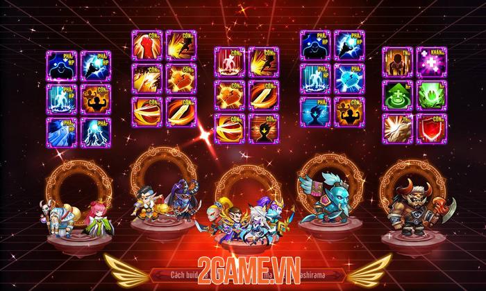 Nuôi tướng bằng skill - Thứ độc lạ chỉ có trong Siêu Thần Mobile 4