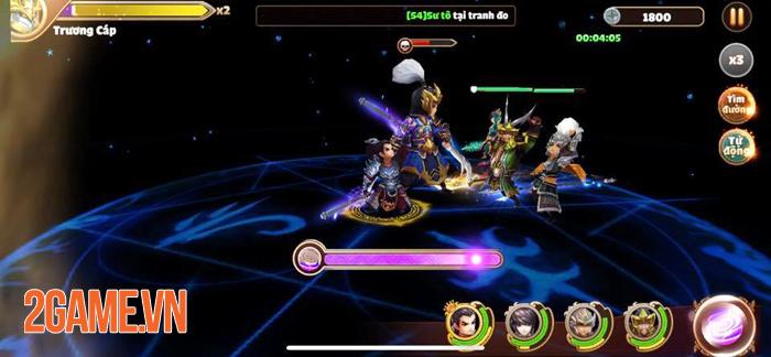 Tam Quốc Tốc Chiến không ngừng tăng hạng nhờ gameplay né chiêu độc lạ 4