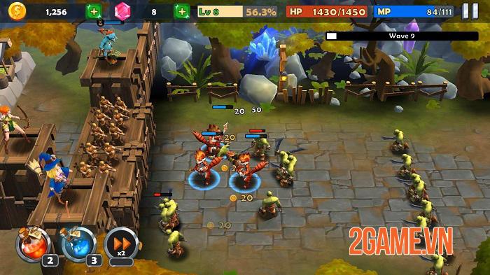 Castle Rush - Game phòng thủ tháp bối cảnh trung cổ thêm chút yếu tố ma thuật 1