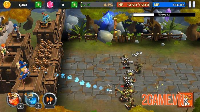 Castle Rush - Game phòng thủ tháp bối cảnh trung cổ thêm chút yếu tố ma thuật 2
