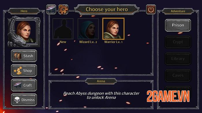 Good Old Dungeon - Game nhập vai dungeon cổ điển có yếu tố FPS 0