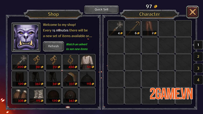 Good Old Dungeon - Game nhập vai dungeon cổ điển có yếu tố FPS 2