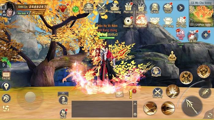 Ngạo Kiếm 3D Mobile sẽ là miền đất hứa cho những fan game MMORPG 2