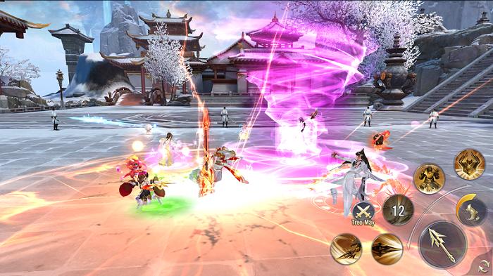 Ngạo Kiếm 3D Mobile sẽ là miền đất hứa cho những fan game MMORPG 4