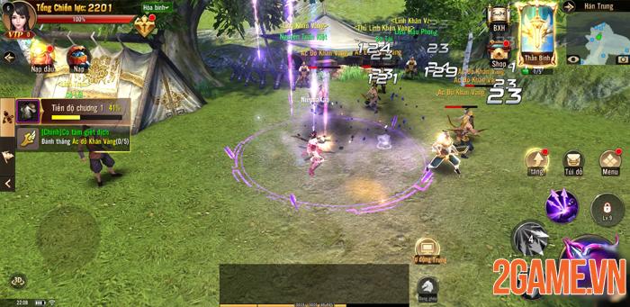 Chất chiến đấu nhanh - mạnh của Chiến Thần 3D Mobile khiến người chơi cảm thấy đã tay! 0