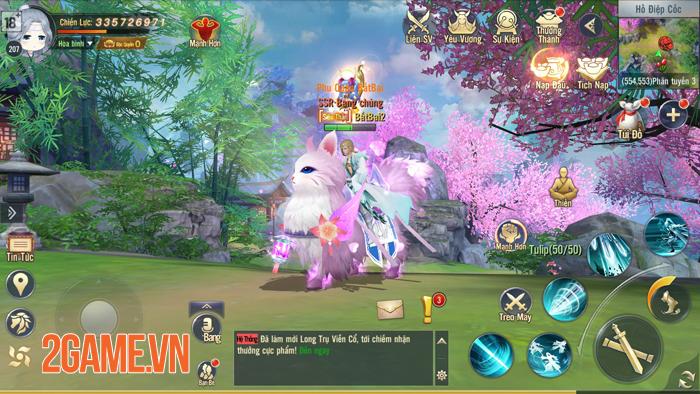 Thỏa sức PK, luyện cấp săn đồ làm giàu với Ngạo Kiếm 3D Mobile 8