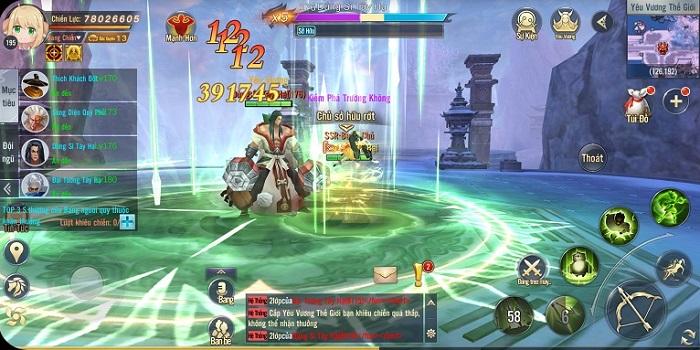 Thỏa sức PK, luyện cấp săn đồ làm giàu với Ngạo Kiếm 3D Mobile 4