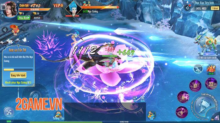 Cũng là game tiên hiệp sao đồ họa của Âm Dương Kiếm lại đặc biệt thế nhỉ?! 3