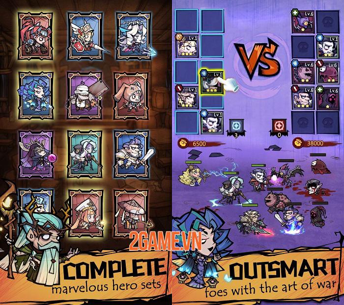 Auto Heroes - Game nhập vai nhàn rỗi sở hữu dàn nhân vật đa dạng 2