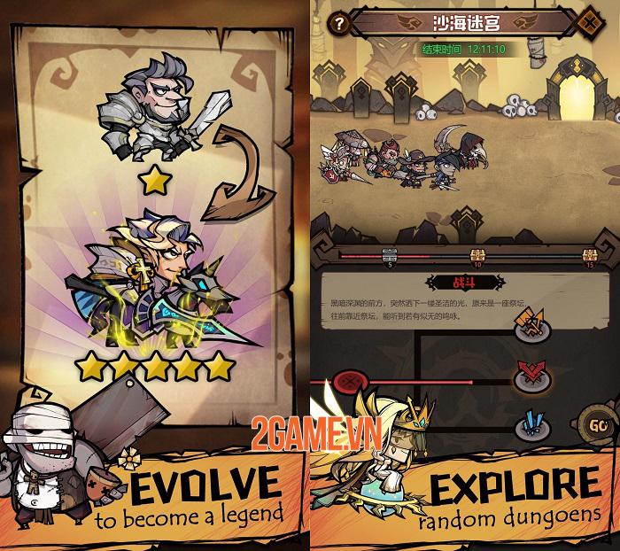 Auto Heroes - Game nhập vai nhàn rỗi sở hữu dàn nhân vật đa dạng 4