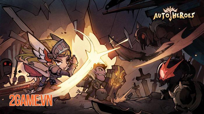 Auto Heroes - Game nhập vai nhàn rỗi sở hữu dàn nhân vật đa dạng 1