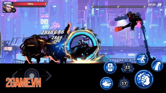 Cyber Fighters - Game ARPG chặt chém có đồ họa cyperpunk đáng kinh ngạc 1