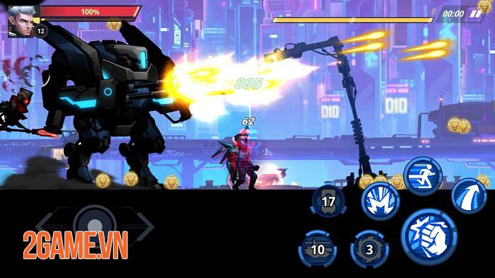 Cyber Fighters - Game ARPG chặt chém có đồ họa cyperpunk đáng kinh ngạc 2