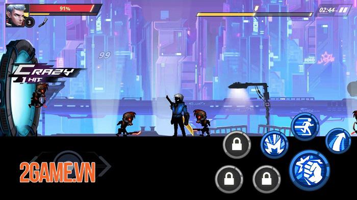 Cyber Fighters - Game ARPG chặt chém có đồ họa cyperpunk đáng kinh ngạc 3