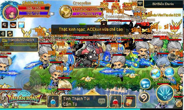 Dấu Ấn Rồng Mobile xác lập thành tích đạt Top 1 BXH chỉ sau 5 phút mở game 1