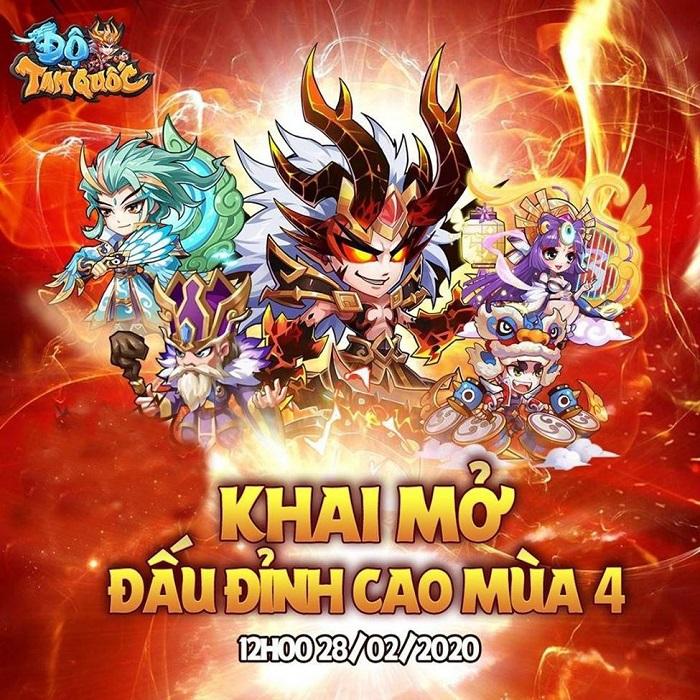 Tặng 500 giftcode game Độ Tam Quốc 0