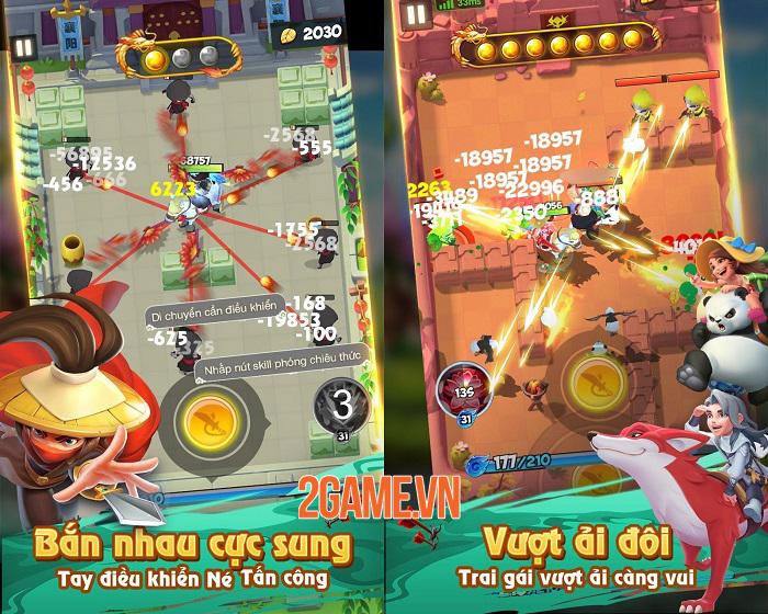 Đại Hiệp Piu Piu Piu - Game võ hiệp bắn tên mới mẻ cập bến Việt Nam 1