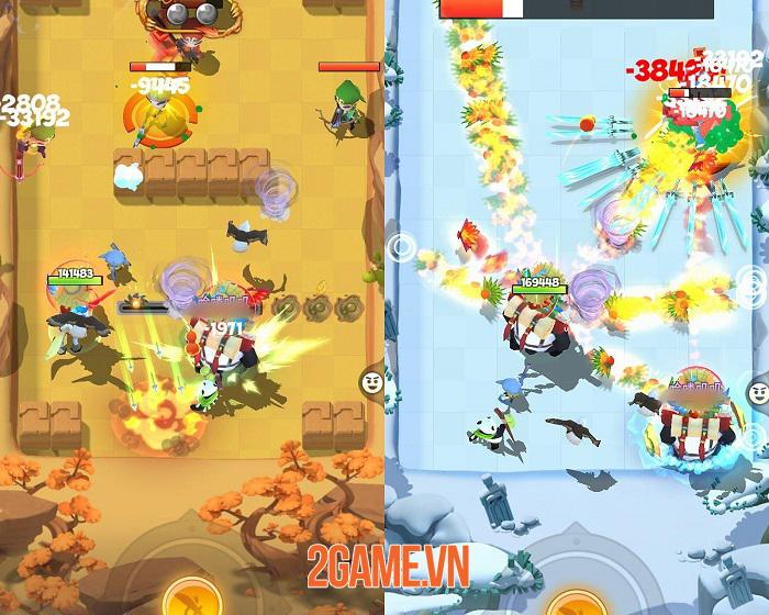 Đại Hiệp Piu Piu Piu - Game võ hiệp bắn tên mới mẻ cập bến Việt Nam 3